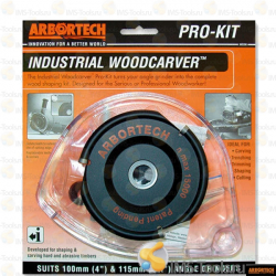Arbortech Disc with interchangeable tungsten carbide inserts Industrial Woodcarver Blade + guard