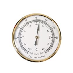 Bausatz Thermometer, Messing+Glas